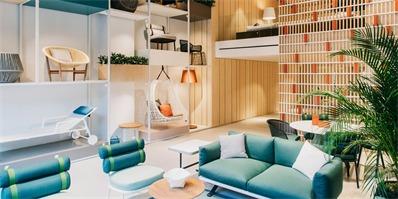 Kettal家具展厅:不仅要突出家具的美感,更要能展示美好生活