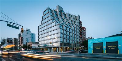 """布鲁克林""""251 First""""公寓楼,梯田造型让它有小镇社区感"""