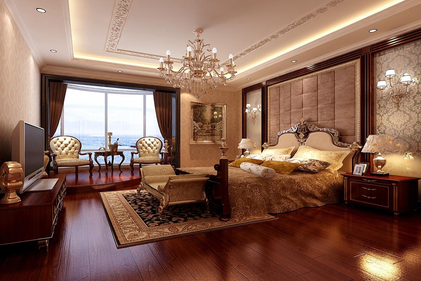 欧式卧室吊顶效果图