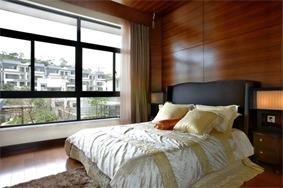 东南亚卧室背景墙效果图