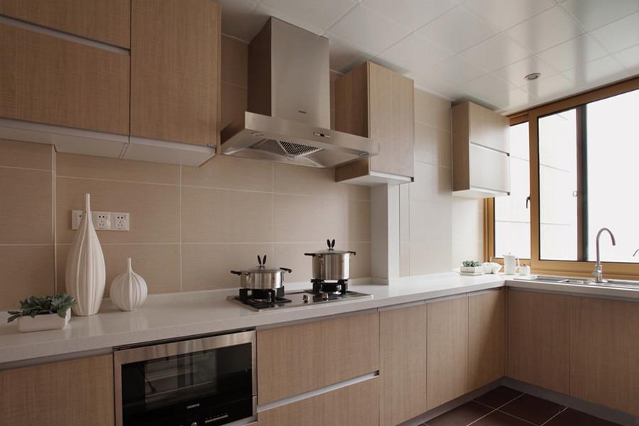 简约厨房背景墙效果图