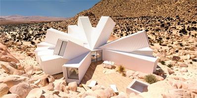 美国加州集装箱住宅|一座昆虫外骨骼构造般的住宅