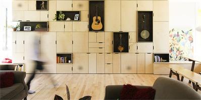 家居陈列墙,为你的陈列品也打造个合适的家