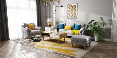家居地毯选购技巧 快给自己选一块温暖又有颜值的地毯