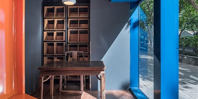 上海悦阅书店:一扇门打开两个书店