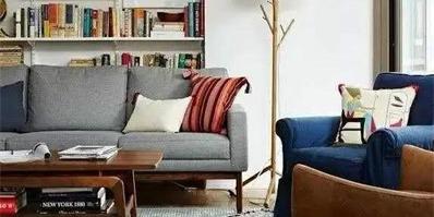 小户型沙发这样摆 客厅大十倍!