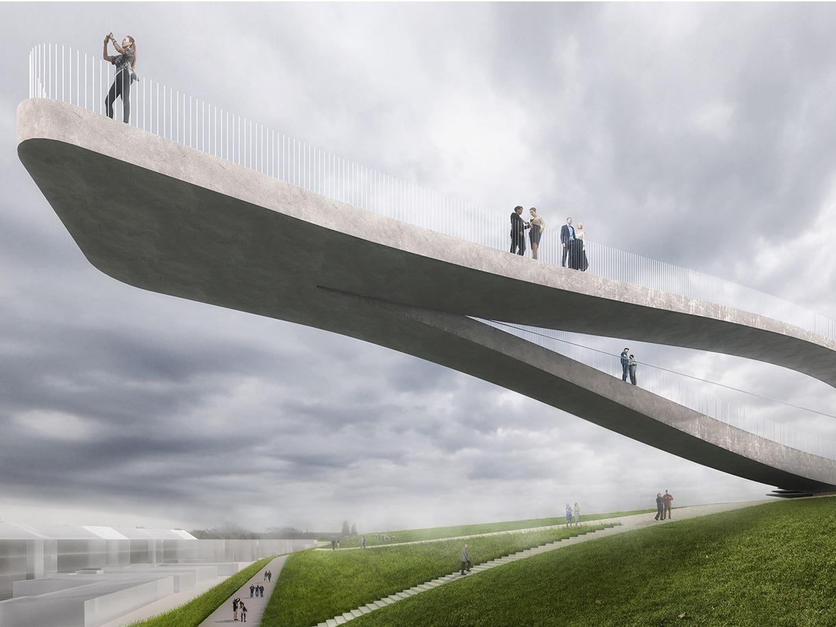 MVRDV赢得登海尔德北岸新公共设施设计竞赛