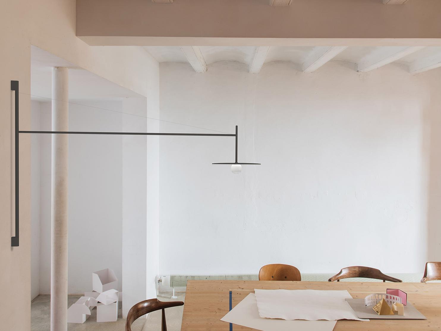 巴塞罗那TEMPO灯具系列,轻盈而典雅的灯具