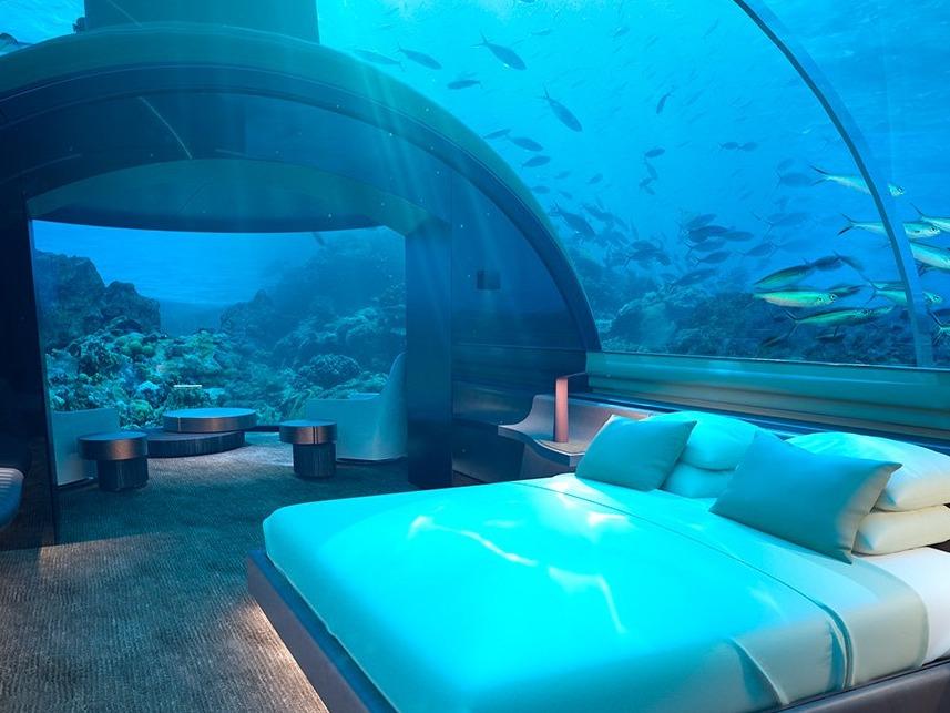 全球首座水下酒店住宅muraka即将潜入印度洋