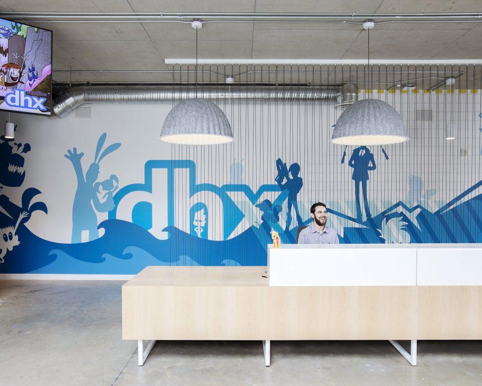 温哥华DHX媒体大厦,打造动画天堂+^0ˊ