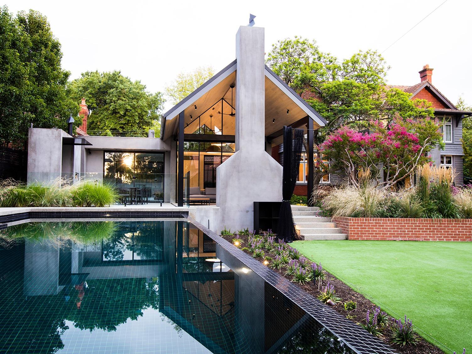 墨尔本坎伯威尔的住宅花园,一座令人惊叹的花园