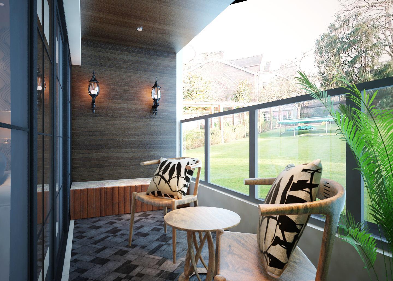 客厅阳台装修 客厅与阳台之间安装隔断门怎么样