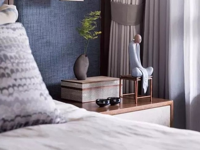 90后心中新中式卧室,是这个样子的,你喜欢吗?