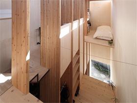 日本T住宅,T型結構帶來的自由空間