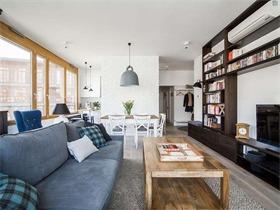斯德哥爾摩兩居公寓 簡約通透的北歐新居